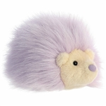 Purple Hedgehog Stuffed Animal Macaron Plush by Aurora