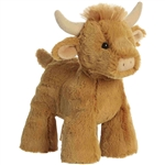 Stuffed Longhorn Bull Splootsies Plush by Aurora
