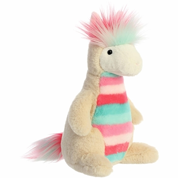 Lucas the Rainbow Stuffed Llama Prisma Party Plush by Aurora
