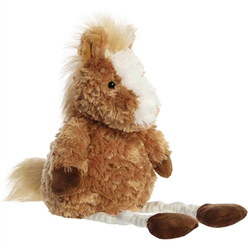 Hailey the Stuffed Horse Knottingham Friends Plush by Aurora