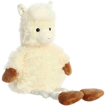Lacey the Stuffed Llama Knottingham Friends Plush by Aurora