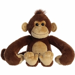 Monkey Stuffed Animal Hang N Swing Plush by Aurora