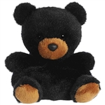 Sleepy the Stuffed Black Bear Palm Pals Plush by Aurora
