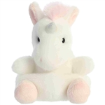 Sassy the Stuffed Unicorn Palm Pals Plush by Aurora