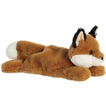 Stuffed Red Fox Schooshies Plush by Aurora