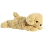 Stuffed Golden Lab Schooshies Plush by Aurora