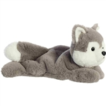 Stuffed Husky Schooshies Plush by Aurora