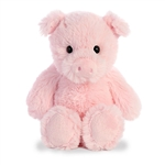 Small Stuffed Pig Cuddly Friends Plush by Aurora