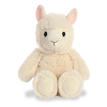 Small Stuffed Llama Cuddly Friends Plush by Aurora