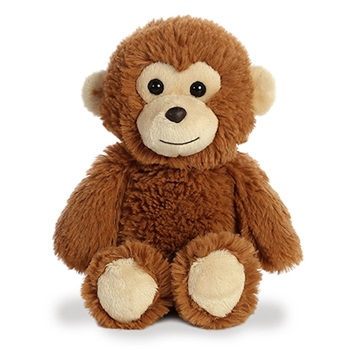Small Stuffed Monkey Cuddly Friends Plush by Aurora