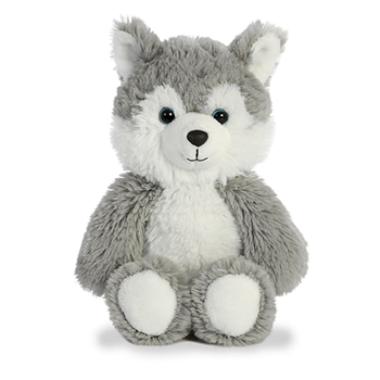 Small Stuffed Husky Cuddly Friends Plush by Aurora