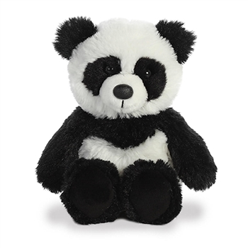 Small Stuffed Panda Cuddly Friends Plush by Aurora