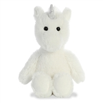 Stuffed White Unicorn Cuddly Friends Plush by Aurora