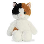 Stuffed Calico Cat Cuddly Friends Plush by Aurora