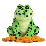 Destination Nation Spotted Frog Stuffed Animal by Aurora