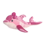Girlz Nation Pink Stuffed Dolphin by Aurora