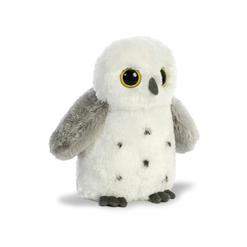 Destination Nation Small Snowy Owl Stuffed Animal by Aurora