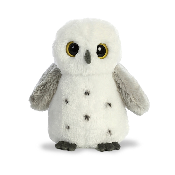 Small Snowy Owl Stuffed Animal Destination Nation By Aurora