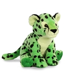Destination Nation Green Cheetah Stuffed Animal by Aurora