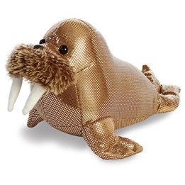 Destination Nation Titanium Small Stuffed Walrus by Aurora
