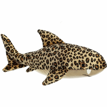 Destination Nation Titanium Small Stuffed Leopard Shark by Aurora