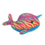 Destination Nation Rainbow Narwhal Stuffed Animal by Aurora