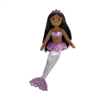 Sophia the Sea Sparkles Black-Haired Mermaid Doll by Aurora