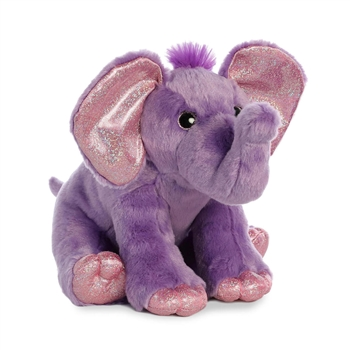 Destination Nation Purple Elephant Stuffed Animal by Aurora