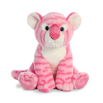 Destination Nation Pink Tiger Stuffed Animal by Aurora