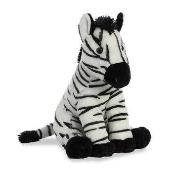 Destination Nation Zebra Stuffed Animal by Aurora