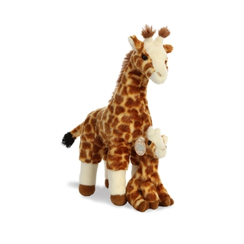Destination Nation Mama & Baby Giraffe Stuffed Animals by Aurora