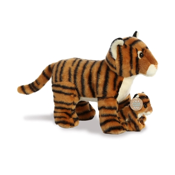 Destination Nation Mama & Baby Bengal Tiger Stuffed Animals by Aurora