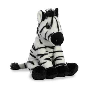 Destination Nation Small Zebra Stuffed Animal by Aurora