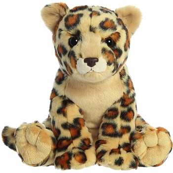 Destination Nation Leopard Stuffed Animal by Aurora