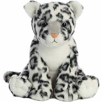 Destination Nation Snow Leopard Stuffed Animal by Aurora
