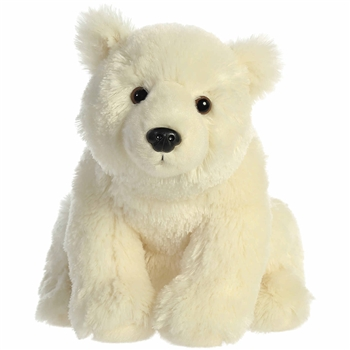 Destination Nation Polar Bear Stuffed Animal by Aurora