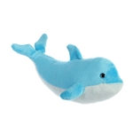 Destination Nation Small Blue Dolphin Stuffed Animal by Aurora