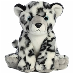 Snow Leopard Stuffed Animal Destination Nation Plush by Aurora