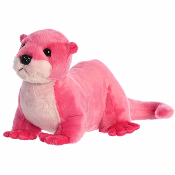 Destination Nation Pink River Otter Stuffed Animal by Aurora