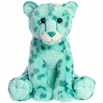 Destination Nation Aqua Cheetah Stuffed Animal by Aurora