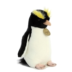 Realistic Stuffed Erect-crested Penguin 7 Inch Miyoni Plush by Aurora