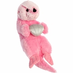 Destination Nation Pink Sea Otter Stuffed Animal by Aurora