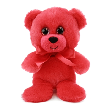 Red Teddy Bear 6 Inch Rainbow Brights Bear by First and Main