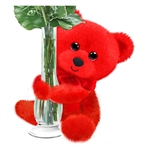 Red Huggums Plush Red Teddy Bear by First and Main