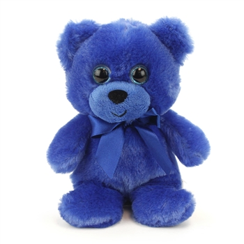 Blue Teddy Bear 6 Inch Rainbow Brights Bear by First and Main
