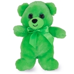 Green Teddy Bear 6 Inch Rainbow Brights Bear by First and Main