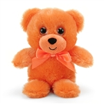 Orange Teddy Bear 6 Inch Rainbow Brights Bear by First and Main