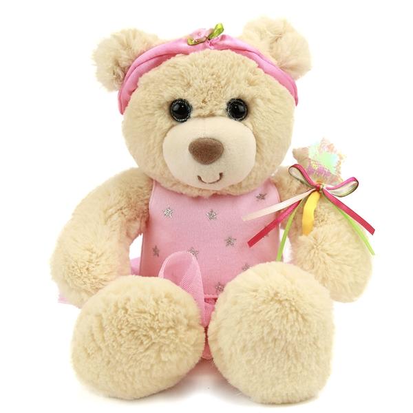 Plush Ballerina Teddy Bear First Main Stuffed Safari