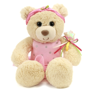 Tillie Twinkletoes the Plush Ballerina Teddy Bear by First and Main