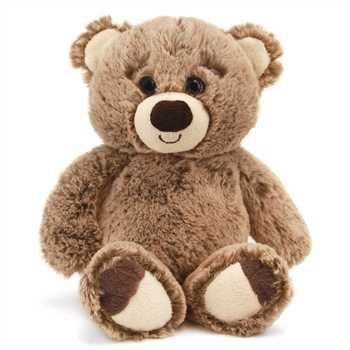 Bumbley the 7 Inch Plush Tan Bear by First and Main